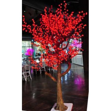 Tree Cherry Blossom 2.5M Red
