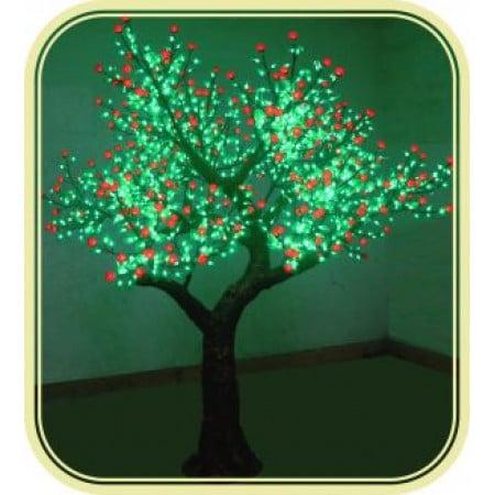 Tree Rose 2.3M Red Green