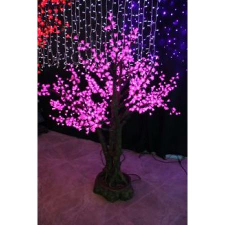 Tree Bonsai Peach Blossom 1.7M Pink