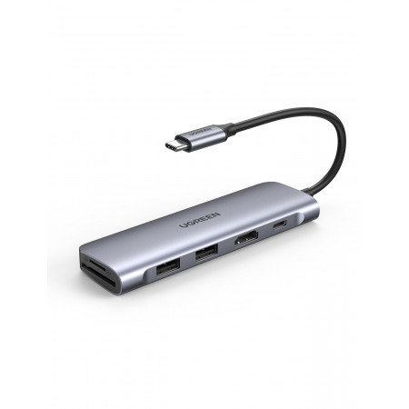 UGREEN USB-C to USB-A x2+HDMI+SD+PD Adapter