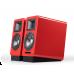 רמקולים מדפיים אקטיביים אדומים Airpulse A100 Hi-Fi 2.0 Bluetooth 5