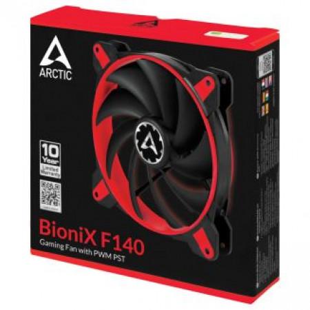 Arctic Bionix F140 Gaming Fan PWM PST Red