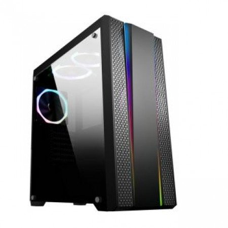 Ippon case Tempered glass 3X 120 Rainbow fans