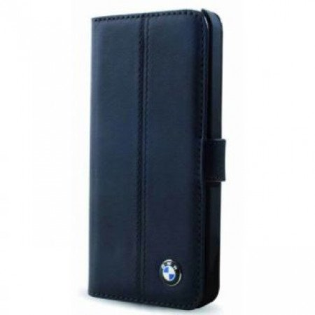 CG Mobile כיסוי ספר מקרבון (פחמן) בצבע כחול כהה BMW M רשמי
