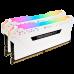 Corsair DDR 4 16G (8Gx2) 3000 CL15 Vengeance RGB PRO White CMW16GX4M2C3000C15W