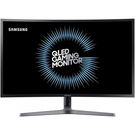 """מסך גיימינג קעור Samsung LCD 31.5"""" C32HG70QQM VA Panel HDR 2K 144Hz DP USB3.0"""