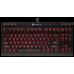 מקלדת גיימינג מכנית Corsair K63 Compact Cherry MX Red