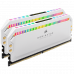 Corsair DDR 4 16G (8Gx2) 3200 Dominator Platinum RGB White CMT16GX4M2Z3200C16W