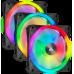Corsair iCUE QL120 RGB 120mm PWM Single Fan 3 Pack