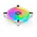 Corsair iCUE QL120 RGB 120mm PWM White Fan 3 Pack