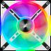 Corsair iCUE QL140 RGB 140mm PWM White Fan