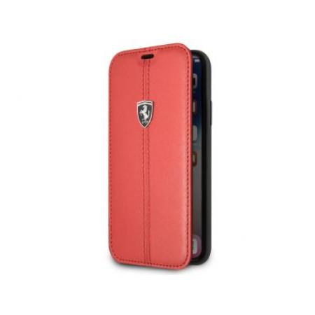 CG Mobile כיסוי ספר לאייפון XR בצבע אדום פרארי רשמי
