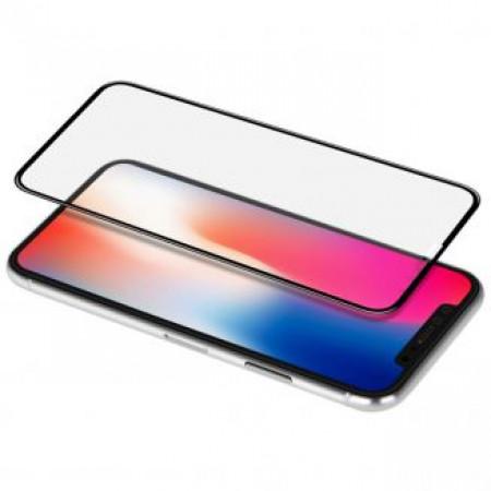 CG Mobile מגן זכוכית לאייפון X/XS עם לוגו פרארי בלתי נראה