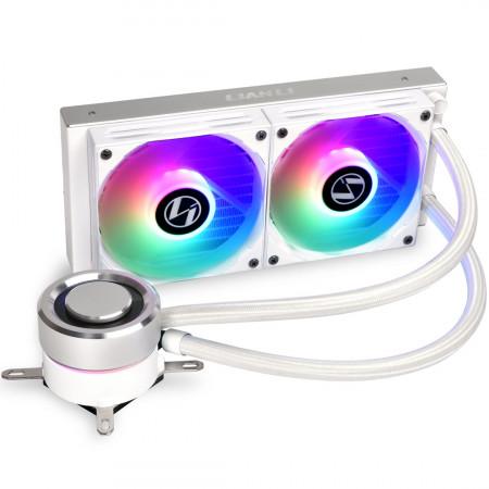 LIAN-LI Galahad AIO 240 Liquid Cooler White