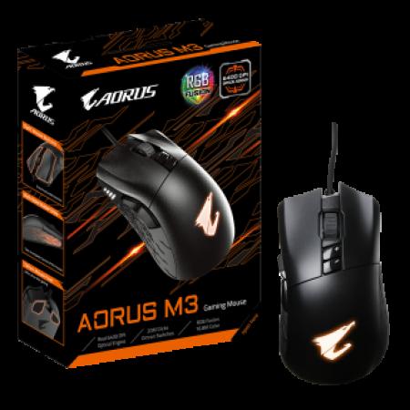 עכבר גיימינג Gigabyte Gaming Mouse AORUS M3