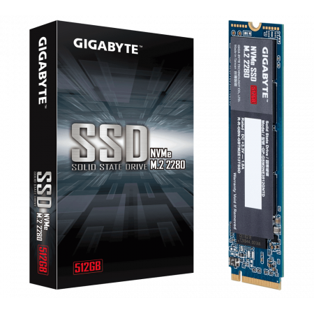 Gigabyte SSD M.2 PCIE NVMe 512GB