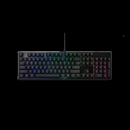 מקלדת מחשב גיימינג CoolerMaster MK110 Black RGB