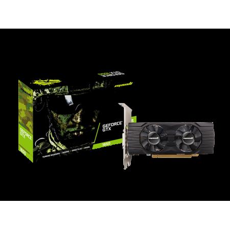 Manli GTX 1650 4GB DDR6 DVI HDMI DP LP