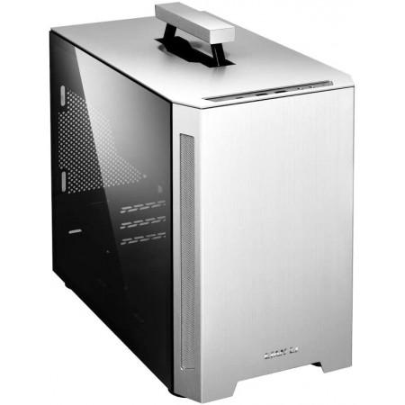 LIAN-LI Mini-ITX Case PC-TU150 Aluminum TG Silver