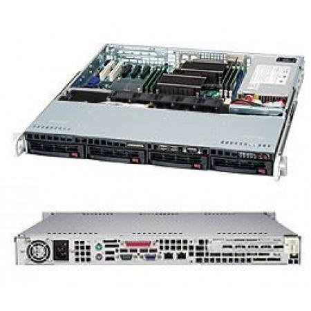 Supermicro Single CPU Advanced 1U Redundant Server