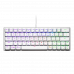 מקלדת למחשב גיימינג CoolerMaster SK620 White Keyboard - Swith Blue