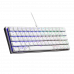מקלדת למחשב גיימינג CoolerMaster SK620 White Keyboard - Swith Brown
