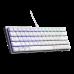 מקלדת למחשב גיימינג CoolerMaster SK620 White Keyboard - Swith Red
