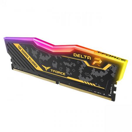DDR 4 16G (8GX2) 3200 CL16 DELTA TUF Gaming Alliance RGB TEAM