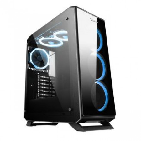 Ippon case THOR 4X Tempered glass 4X 120 Ring RGB fans