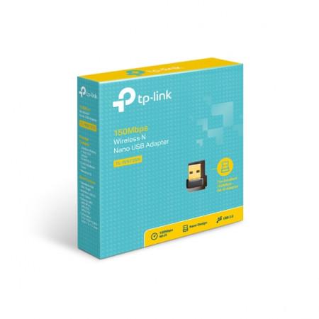מתאם רשת TP-Link 150Mbps Wireless N Nano USB