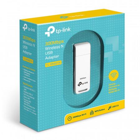 מתאם רשת TP-Link 300Mbps Wireless N USB