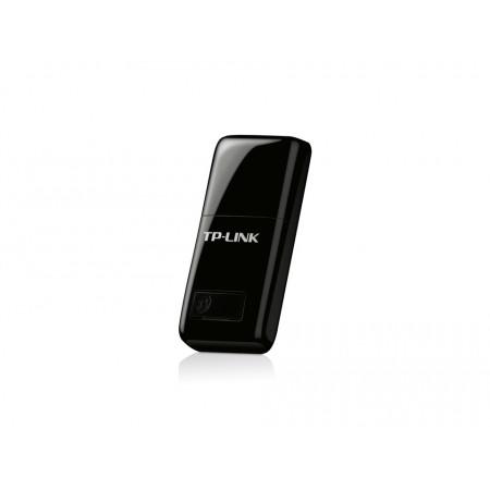 מתאם רשת TP-Link 300Mbps Mini Wireless N USB