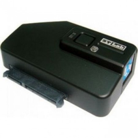 STLAB USB 3.0 To SATA3 Adapter with one touch backup
