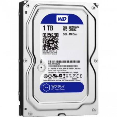 WD HDD 1.0TB 5400 64MB SATA3 Blue 3.5