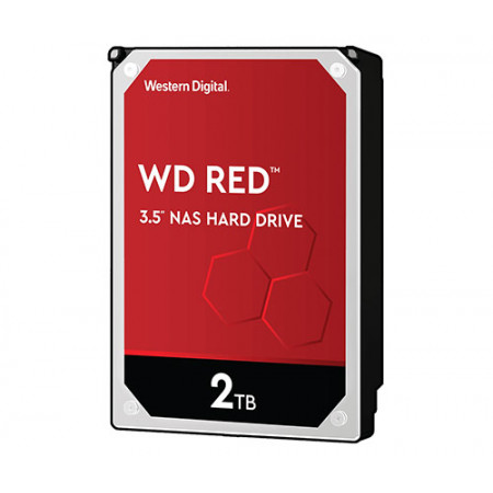 WD HDD 2.0TB 256MB SATA3 Red NAS 24/7 3.5