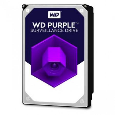 WD HDD 2.0TB 64MB SATA3 Purple Video 24/7 3.5