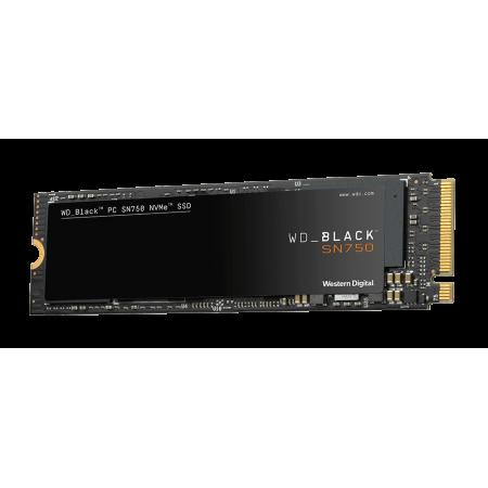 WD SSD 250GB NVMe M.2 2280 SN750 Black